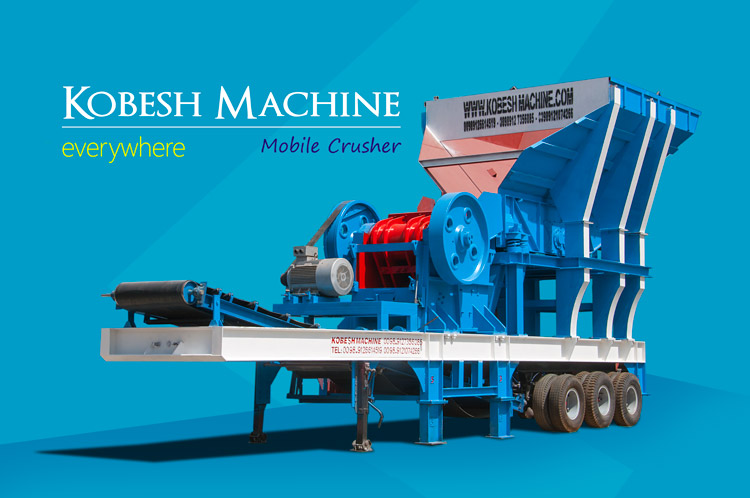 kobeshmachine mining mobile crusher video hero2
