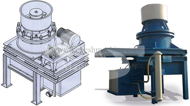 Hydrocone crusher