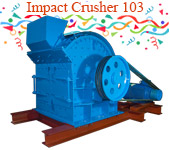 parker Impact crusher 103