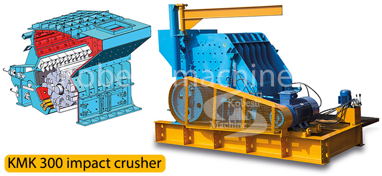 kobesh machine kmk300 impact crusher
