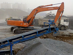 mining project in Iraq (Mobile crusher)